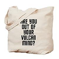 CafePress - Vulcan - Natural Canvas Tote Bag, Cloth Shopping Bag by CafePress