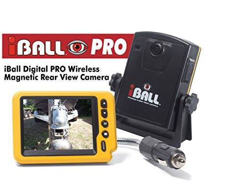 Iball Digital Pro Wireless Magnetic Trailer Hitch Rear View Camera ()