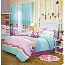 Hot Seller 'Guitar' Kids Bedding Collection - Reversible Comforter Set (Twin) by Kitty4u by Kitty4u