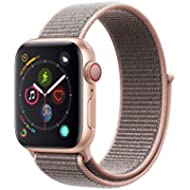 Apple Watch Series 4 (GPS + Cellular, 40mm) - Gold Aluminium Case with Pink Sand Sport Loop