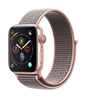 AppleWatch Series4 (GPS+Cellular, 40mm) - Gold Aluminum Case with Pink Sand Sport Loop (B07K4B3SSB) | Amazon price tracker / tracking, Amazon price history charts, Amazon price watches, Amazon price drop alerts