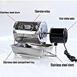 110V Home Kitchen Coffee Roaster coffee bean Machine Stainless...