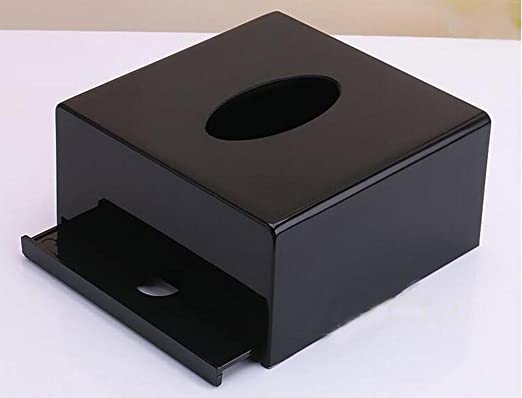 Prexiglass NUK005-2 - Soporte para dispensador de servilletas (acrílico), diseño de caja de pañuelos: Amazon.es: Hogar