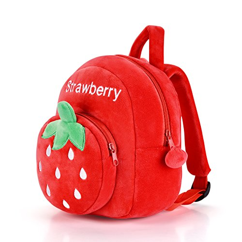 Gloveleya Kids Plush Backpack Toddler Diaper Bags Kindergarten Bag For Little Children(12-36M)- 9