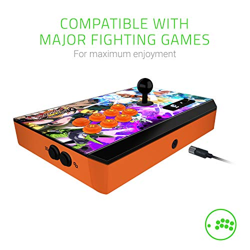 Razer Atrox Dragon Ball Fighter Z: Fully Mod-Capable - Sanwa Joystick and  Buttons - Internal Storage Compartment - Tournament Arcade Stick for Xbox