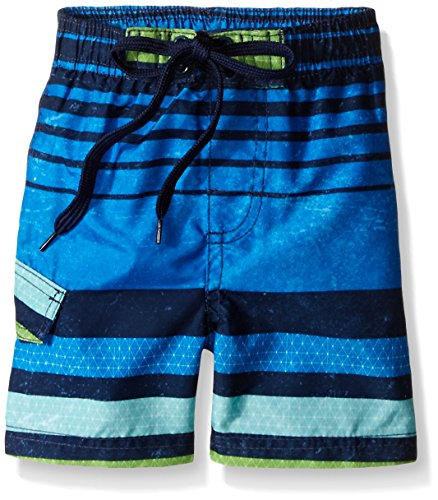 Price comparison product image Kanu Surf Little Boys' Toddler Echo Stripe Swim Trunk,  Blue,  2T