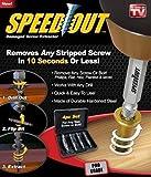 SystemsEleven Speed Out - Juego de 4 extractores de tornillos