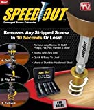 SystemsEleven Speed Out 4pc Damaged Screw Extractor Use With Any Drill As Seen On TV SpeedOut by SystemsEleven