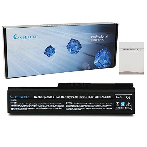 CSE High Performance Laptop Notebook Battery for Toshiba PA3817U-1BRS PA3818U-1BRS PA3819U-1BRS Satellite M600 M640 M645 L750 P740 P745 P745D P750 P755 P755D P770 P770D P775 P775D PS300C