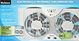 Holmes HAWF2043 Dual Blade Twin Window fan with One