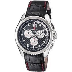 Swiss Alpine Military Thunder Men's Swiss Quartz Chronograph Watch 1621.9537 SAM