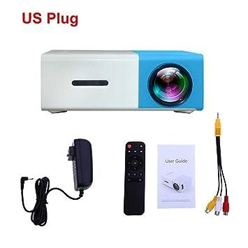HD YG300 Pico Projector 500 Lumen 3.5mm Audio 320x240 Pixeles HDMI ...