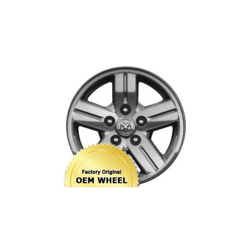 DODGE DAKOTA 18X8 5 SPOKE Factory Oem Wheel Rim  MACHINED CLAD   Remanufactured