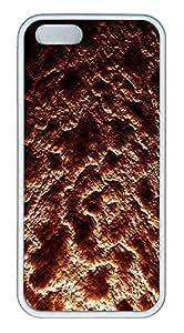 iPhone 5S Case Magma Texture TPU Custom iPhone 5/5S Case Cover White