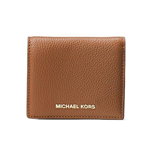 MICHAEL Michael Kors Women's Money Pieces Flap Card Holder, Acorn, One Size