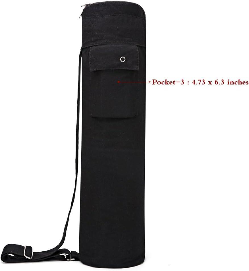 Yoga Strap and Exercise Mat /¡/ Baen Sendi Yoga Mat Bag with Expandable Pocket,Best Bags for Yogo Mats