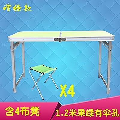 Xing Lin Table Pliable Table Pliante Table Table De Pique-Nique Portable Portable Extérieure Décrochage Simple Table Accueil Balcon Table 120*60*70Cm