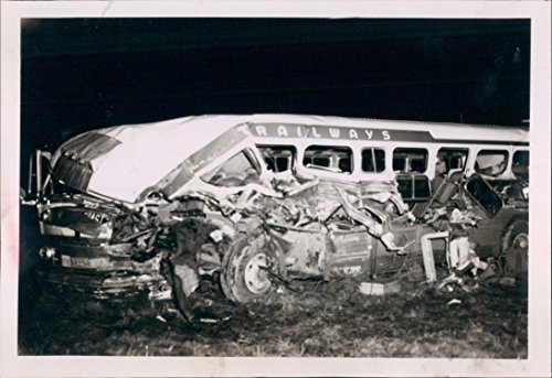 - 1953 Tragedy Trailways Bus Accident Passengers Injured Dead Salem OR Press Photo