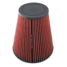 "Spectre 889612 hpR Red 4"" Cone Filter"