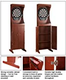 Hanko Quality Free Standing Dart Wood Cabinet Combo Set