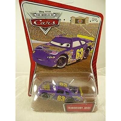 Disney / Pixar CARS Movie 1:55 Die Cast Car Exclusive #63 Transberry Juice: Toys & Games