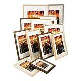 Kenro Frisco 6x4'' Black Photo Frame (Wood) (FR1015BW)
