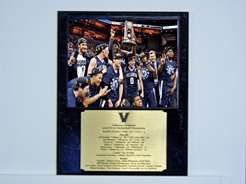 Engraved Photo Plaques (Villanova Wildcats 2016 NCAA Championship Photo Plaque with Engraved Nameplate)