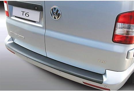 RGM Protection de seuil de Chargement pour Volkswagen VW T6 VI avec Portes battantes arri/ère Caravelle et Multivan et Transporter /à partir de 04.2015 Surface de larticle nervur/ée RBP875