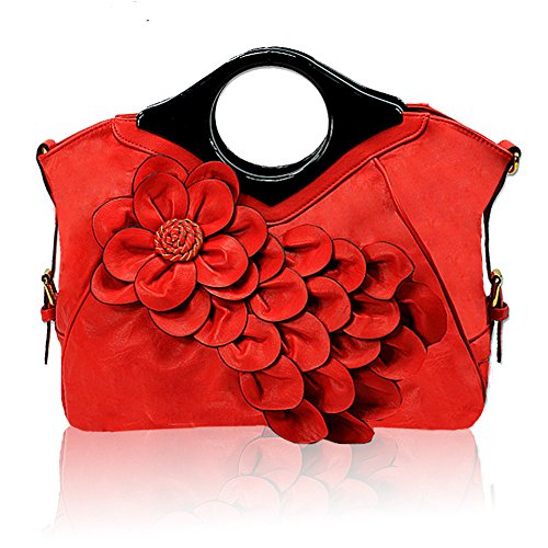 Gwqgz Handbag Bangalore Peacock All New Flower Popular Ladies Personality match Style d4P4vqxwr