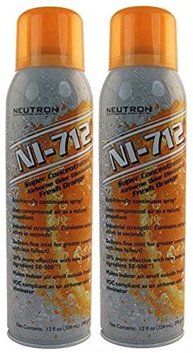 NI-712 Odor Eliminator, Orange Continuous Spray - 2 PACK