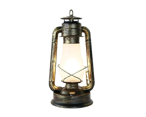 Luz Araña Vintage Linterna Keroseno Lámpara de mesa Lámpara de ...