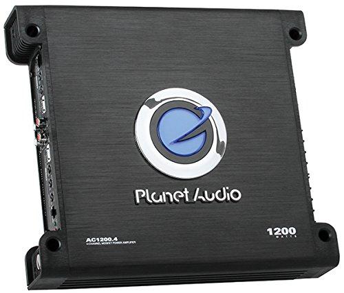 Planet Audio Anarchy AC1200.4 1200 Watt 4 Channel Car Amplifier+Amp Kit by Planet Audio (Image #3)