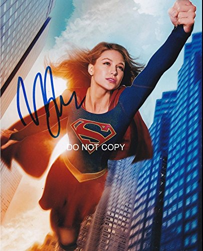 Melissa Benoist of Supergirl DC Tv show reprint signed autographed 11x14 poster photo #1 RP from Loa_Autographs