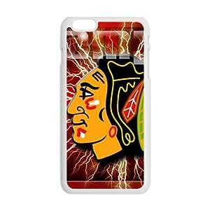Happy chicago blackhawks Phone Case for Iphone 6 Plus