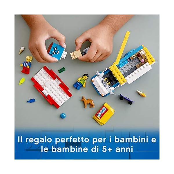 LEGO City Great Vehicles Furgone dei Gelati con 2 Minifigure e 1 Cane, Più 1 Serie di Accessori, Set di Costruzioni per… 5 spesavip