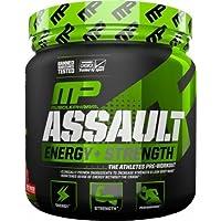 Musclepharm Assault Sport 345g - Energy & Strength Pre -Workout (Strawberry Ice)