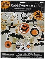 30-piece Halloween Decoration Halloween Swirls Mega Value Pack