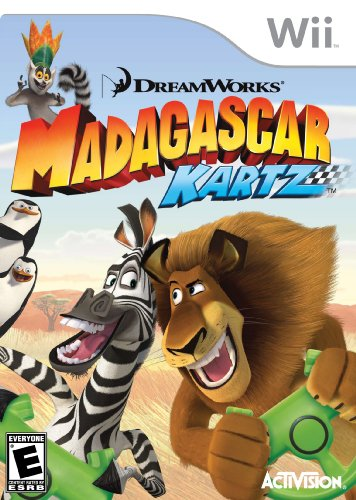 Madagascar Kartz (Car Games For Wii)
