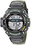Image of Casio Men's SGW300HB-3AVCF Multi-Function Sport Watch with Green Nylon Band
