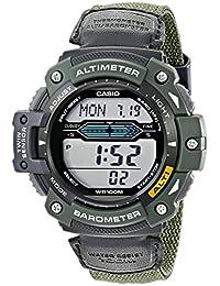 Casio Men's SGW300HB-3AVCF Twin Sensor Multi-Function Digital Green Sport Watch