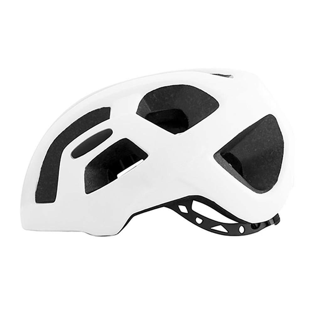 Leo565Tom casco da bici strada MTB bicicletta ciclismo, da uomo donna Ultralight traspirante casco di sicurezza misura regolabile 55–60cm, Blue