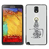 iMagic Case / Hard Snap on Case for Samsung Galaxy Note 3 N9000 N9002 N9005 - Grim Reaper Angel Scythe Death Cape