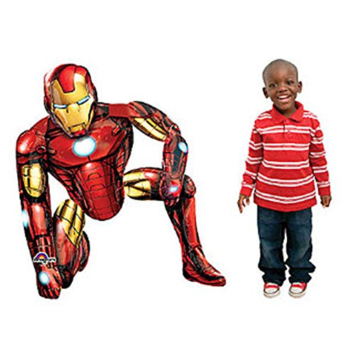 Iron Man Airwalker Balloon - 46 inch 2PC (Best Ironman Costume)
