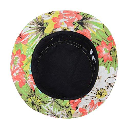 aee4912788c Hatphile Men s Trendy Bucket Hat Large Pineapple Hawaii Aloha White