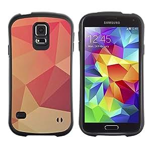 Suave TPU GEL Carcasa Funda Silicona Blando Estuche Caso de protección (para) Samsung Galaxy S5 / CECELL Phone case / / Peach Lollipop Pattern Wallpaper /