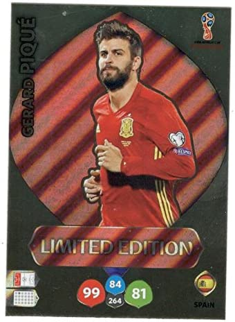 Adrenalyn Lote Cards Edición Limitada Spain XL Mundial Rusia 2018: Amazon.es: Juguetes y juegos