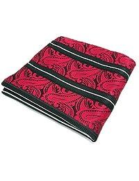 Shlax&Wing Red Paisley Pocket Square Hankies Hanky Handkerchief Wedding