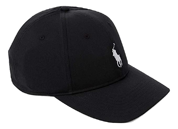 e82131ebc184b RALPH LAUREN MENS CLASSIC BASEBALL CAP (Black)  Amazon.co.uk  Clothing