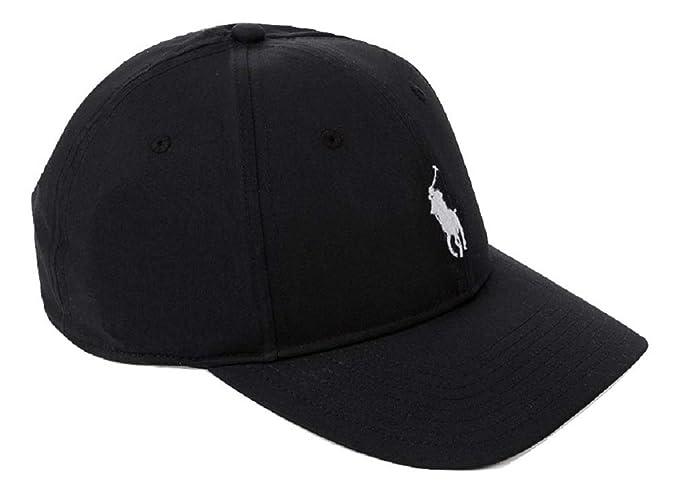 RALPH LAUREN MENS CLASSIC BASEBALL CAP (Black)  Amazon.co.uk  Clothing 1196bbfb104