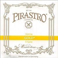 Cuerda Pirastro Gold Label 4/4 Violín E - Mediana - Acero - Fin de bucle (Versión original)